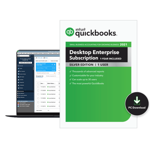 QuickBooks Enterprise 2021 Silver Edition