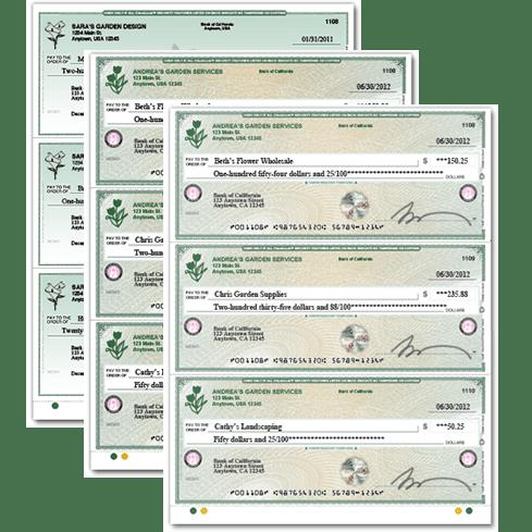 Checks & Supplies