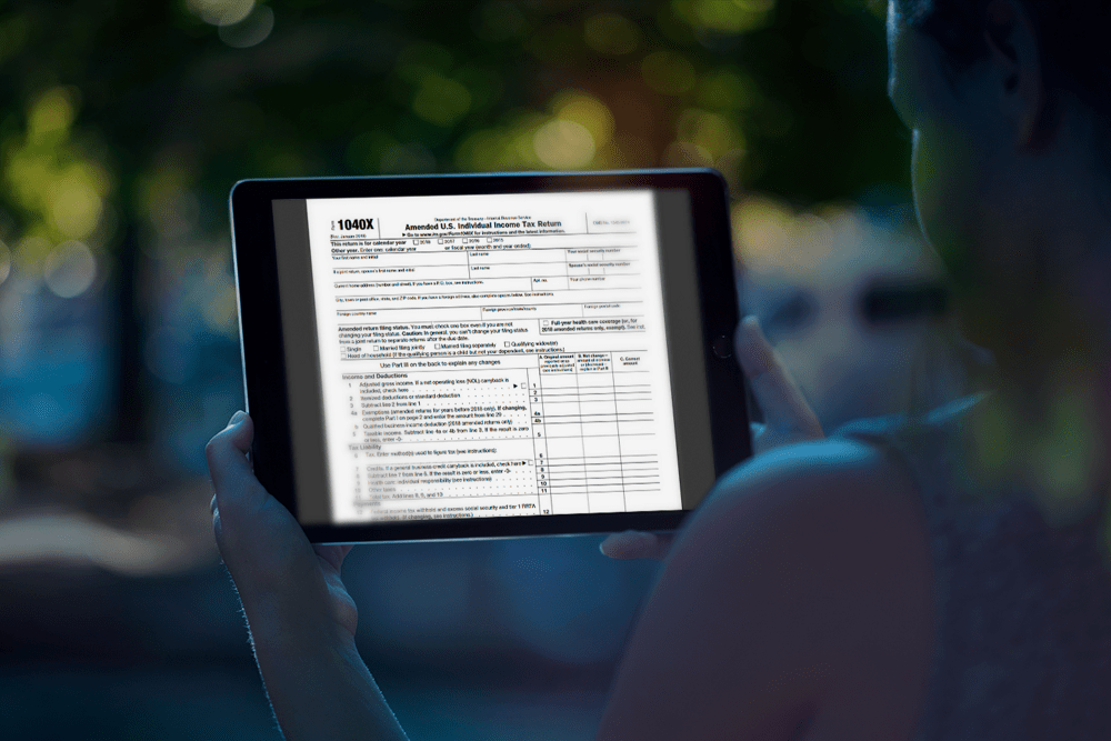 here is a guide to filing an amended tax return with the irs
