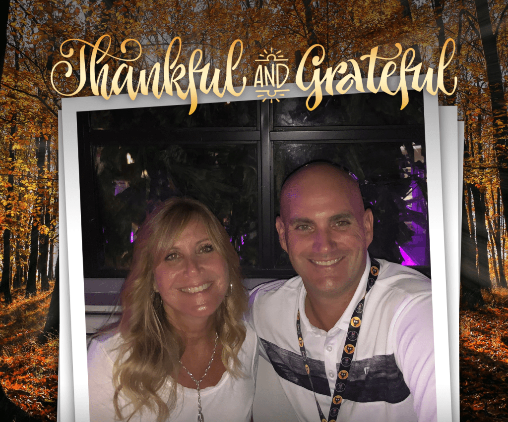 we at out of the box technology wish all of you a happy thanksgiving and glad tidings during the 2019 holiday season - this picture of is of our chief operations officer and founding partner Lisa McCarthy