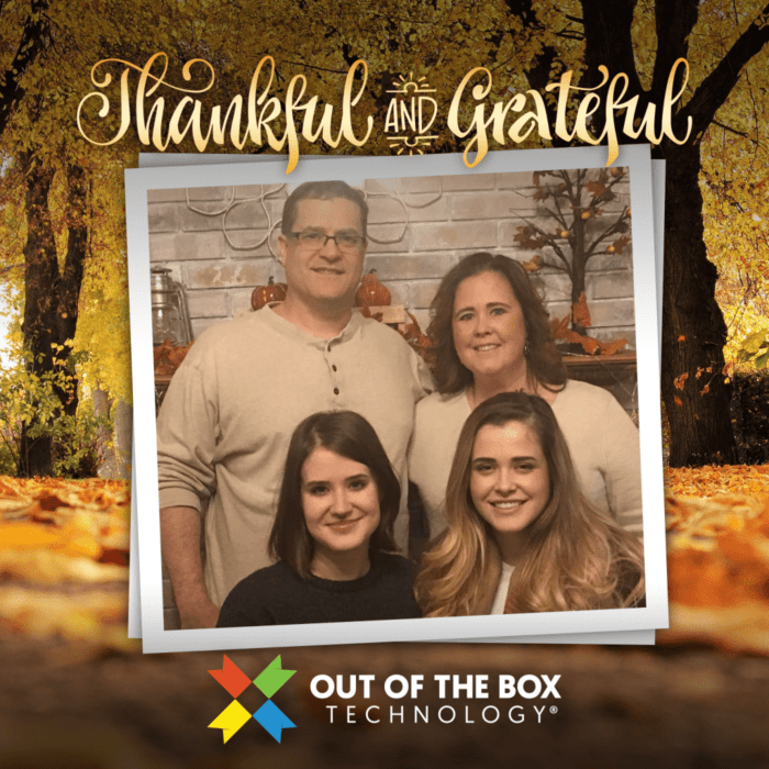 powerful accounting dawn brolin and her family extend thanksgiving greetings!